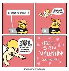 Feliz San Valentín (amargados). #humor #risa #graciosas #chistosas #divertidas
