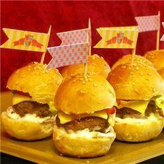 Castle Party Mini Food Tags, Castle party ideas
