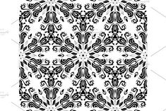 Oriental vector pattern with damask, arabesque and floral elements. Damask Patterns, Arabesque, Vector Pattern, Abstract Backgrounds, Oriental, Graphic Design, Floral, Prints, Flowers