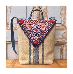 boho bag-grainsack bag-tote bag-shoulderbag-handbag-tribal