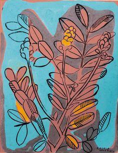 Burle Marxn #floral #illustration