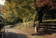 Sunken Road, Fredericksburg, Virginia: The Sunken Road in Fredericksburg, Virginia, was the site of a Civil War battle, ca. 1862. (Photo Credit: © Lee Snider/Photo Images/CORBIS)