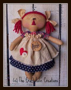 Примитивные куклы от The Craftaholic Creations. Обсуждение на LiveInternet - Российский Сервис Онлайн-Дневников
