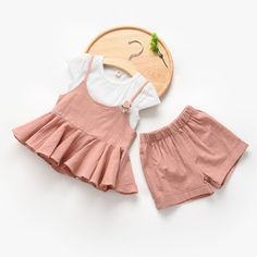 16.11$  Watch now - http://ali600.shopchina.info/go.php?t=32648271176 - Baby girls clothes Brand summer kids clothes sets t-shirt+halter+shorts suit clothing set Star Printed Clothes girls sport suits  #magazine