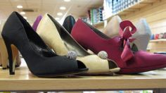 Beautiful range of shoes at Salvador Artesano shop in Elche.