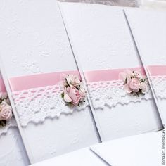 Wedding Album, Wedding Cards, Wedding Gifts, Invitation Design, Invitation Cards, Embossed Wedding Invitations, Pink Wedding Decorations, 21st Birthday Cards, Wedding Certificate