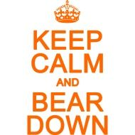 Bear Down Chicago Bears.