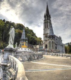 Lourdes - France - photo HDR