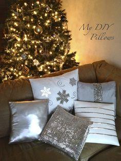 DIY Pillows, cojines de navidad