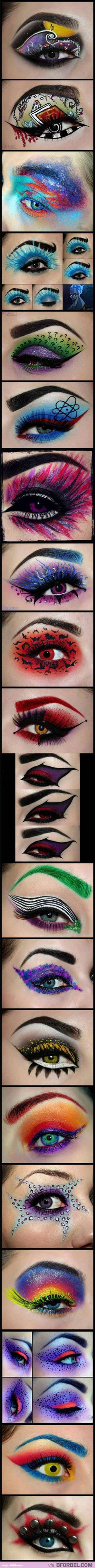 AMAZING Eye Make Up Inspired By Famous Characters… Can You Guess Them All?