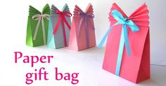 That's a Wrap! How to Make Your own Gift Bag (It's so Easy!) --------> http://tipsalud.com