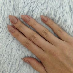 #nude #nails #cute