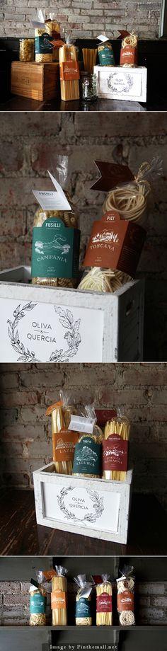Packaging / Oliva & Quercia / pasta / food
