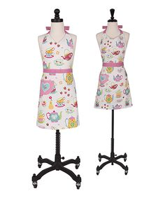 Take a look at this Tea Party Mother-Daughter Apron Set - Kids & Adult today!