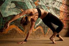Wild thing - love this posture :-) #yoga