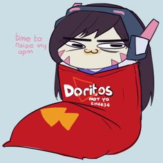 Kyleen I know u want me to cosplay D.Va so what if I went to Fandomfest like this   D.Va being D.Va