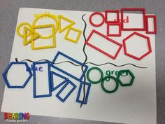 Sharing Kindergarten: Shapes and More Shapes