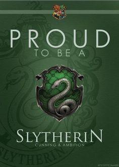 Slytherin Pride Always!