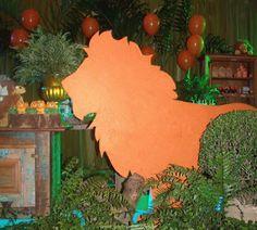 Festa Infantil O Rei Leão por Sueli Coelho Decor www.suelicoelho.com.br