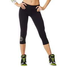 Craveworthy Capri Legging | Use affiliate code 10SALE or shop thru this link to get 10% off! http://www.zumba.com/en-US/store/US/affiliate?affil=10sale