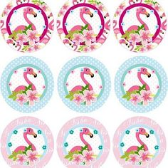 Toppers #flamingoparty #diseñocreativo #paraeventos #diyparty #invitations…