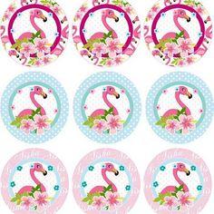 Toppers #flamingoparty #diseñocreativo #paraeventos #diyparty #invitations…