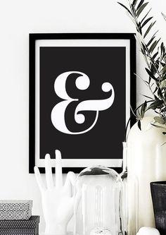 Ampersand Wall Art no. 2 rusty metal ampersand symbol sign lettersjunkloveandco