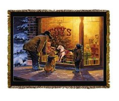 Holiday Gift Horse Tapestry