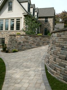 Highland Stone wall in multiple colors