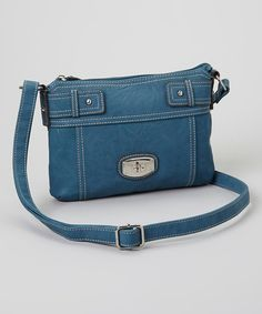 Bridge Road Marina Blue Oceanside Mini Crossbody Bag