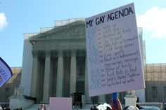 The 60 Best Signs Against DOMA And Prop 8 At The Supreme Court