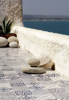 Quarry wall tiles / flooring NOVECENTO Novecento Series by made a mano Porches, Made A Mano, Outdoor Spaces, Outdoor Living, Mediterranean Style, Greek Islands, Historical Sites, Coastal Living, Wall Tiles
