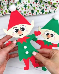 Winter Crafts For Toddlers, Animal Crafts For Kids, Craft Activities For Kids, Preschool Crafts, Diy Crafts For Kids, Preschool Kindergarten, Christmas Craft Projects, Christmas Paper Crafts, Easy Paper Crafts