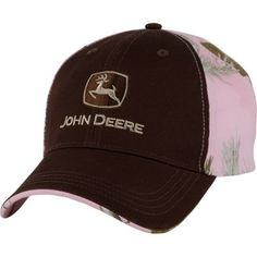 Mix of two of my favorites...pink Realtree  amp  John Deere! Country  HatsCountry ... 178919b3db6