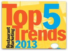 Tendencias del 2013 en marketing para restaurantes
