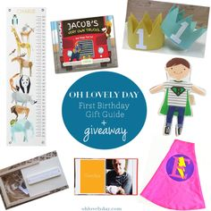 First Birthday Gift Guide   Gift Guide for Littles   Oh Lovely Day