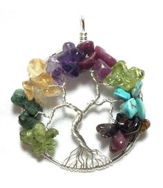 Family Tree-of-Life Pendant Mother's Tree of by SassyMyDesigns