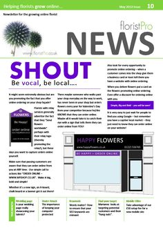 May 13 floristPro News