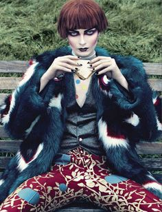 Beauty by Emma Summerton for Vogue Italia August 2012