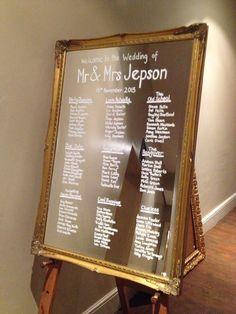 Inspiration Déco Ecrire Sur Un Miroir Put A Ring On It Pinterest Table Plans Wedding Tables And