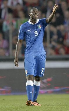 ~ Mario Balotelli on the Italy National Team against the Czech Republic National Team in the World Cup Qualifier ~