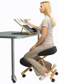 Standing Chair ergo chair - ergonomic kneeling chair | products i love