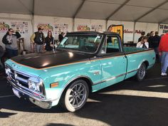 Are you going to bid? RideTech's awesome 48 Hour C10 build is finished, just in the nick of time, and ready for tomorrow's auction at Barrett-Jackson Scottsdale! This gorgeous truck started as a clean '68 C10, and over the course of 48 hours, has been transformed into a modern pro-touring hot rod complete with FITech EFI fuel injection, and 18x8.5/18x9.5 Forgeline ML3C wheels finished with Titanium centers & Polished outers! Read more at…