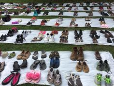 A Mile In Our Shoes: An Artistic Demonstration Against the Senate Healthcare Bill