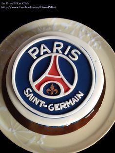 Gâteau logo PSG                                                                                                                                                                                 Plus