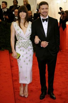 is it wrong that the only thing I love about this picture is Jessica's arm candy? JT makes a tux look amazing. Just sayin.
