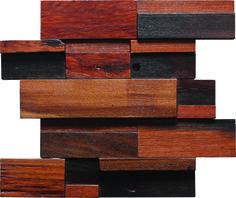 Unique wood grain tile with interlocking reclaimed wood pieces of varying colors. These decorative tiles can be used as wood wall tiles. Perfect for residential and commercial projects. More details: http://www.tstmosaictiles.com/index.php?route=product/product&path=25_28&product_id=70