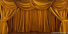 Your number one source for high quality scenic backdrop rentals and sales. Huge selection of backdrop themes for events, recitals, theatre and performing arts. Stage Curtains, Gold Curtains, Toy Theatre, Theatre Stage, Wedding Stage Backdrop, Stage Backdrops, Wedding Background Images, Photography Backdrops, Drapery