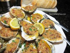 The Best Baked Oysters