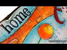 Art Journal Page: Home